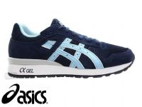Adult's Asics GT-11 Navy / Light Blue Trainers (H40SK-5053) (Option 3) x6: £22.95